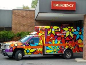 ER delivery.   © Norine Dresser photo collection, 2013.