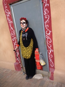 Day of the Dead in Mesilla.  © Norine Dresser photo collection, 2013