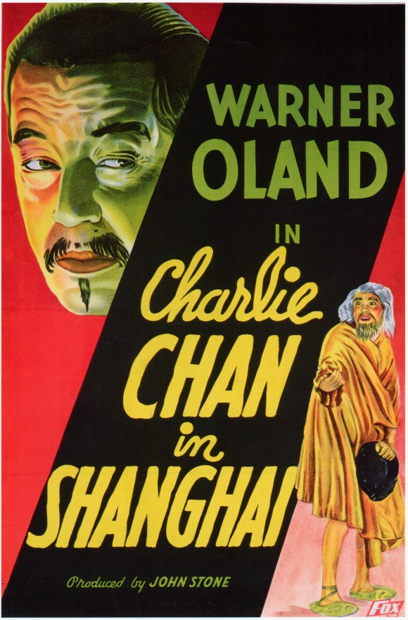Popular film figure, Charlie Chan who was never played by a Chinese actor. ©2016 Norine Dresser photo collection.